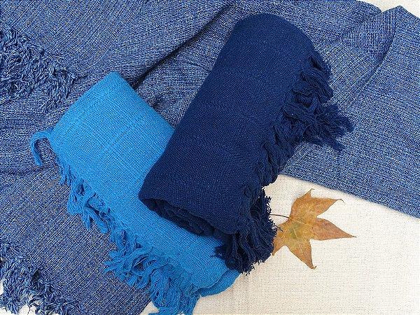 Manta Azul Jeans tamanho M