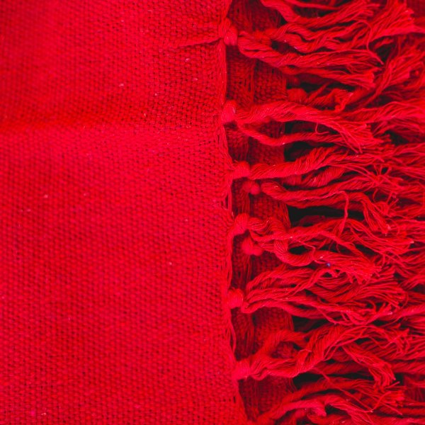 Manta Vermelha tamanho P