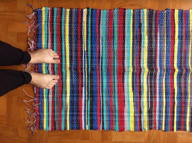 Beira cama colorido