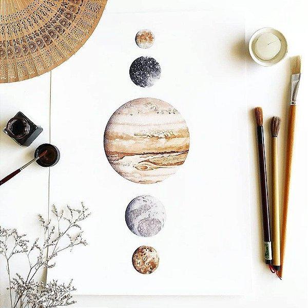 Júpiter e luas