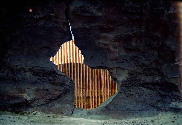 Foto bordada Portal Pedra
