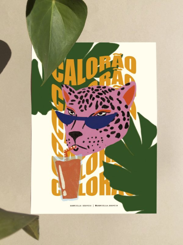 Print A4 - Calorão