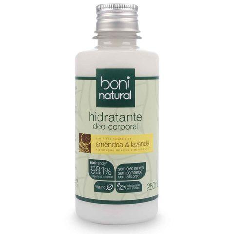 Hidratante Boni Natural Amendoa e Lavanda 250ml