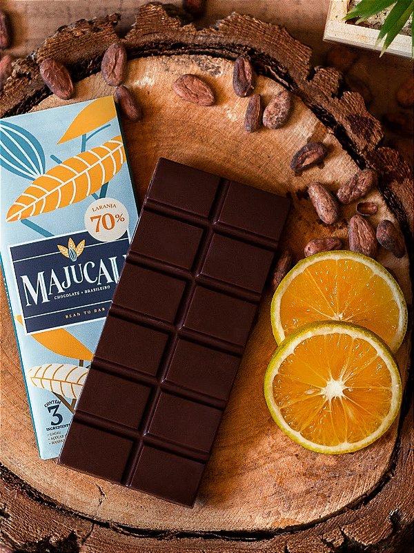 Chocolate 70%  Raspas de Laranja