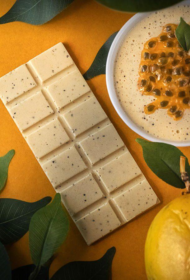 Chocolate Branco com Maracujá