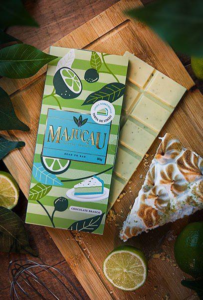 Chocolate Branco - Torta de Limão