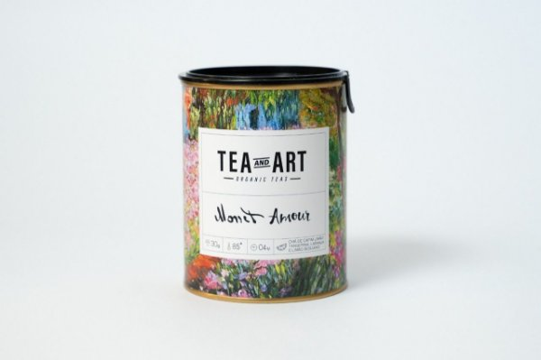 Lata Chá Monet Amour 30g