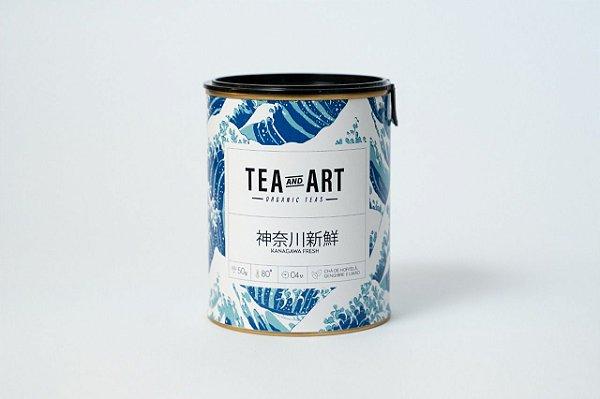 Lata Chá Kanagawa Fresh 50g