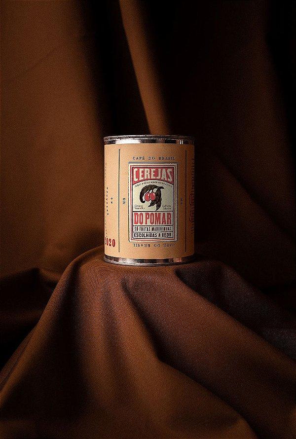 """Café Jetiboca especial na lata """"Cerejas do Pomar"""" Moido - 350g"""