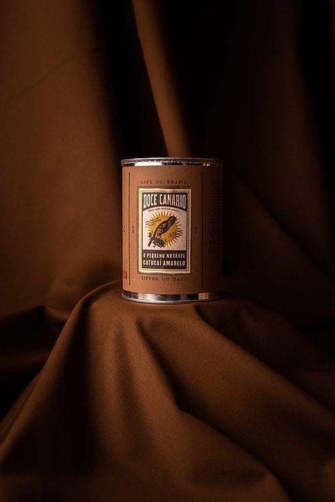"""Café Jetiboca especial na lata """"Doce Canário"""" Grão - 350g"""