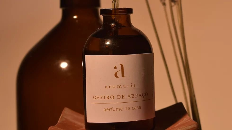 Difusor de Aromaterapia Cheiro de Abraço 50ml