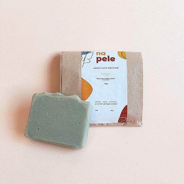 Sabonete facial purificador | argila verde e copaíba