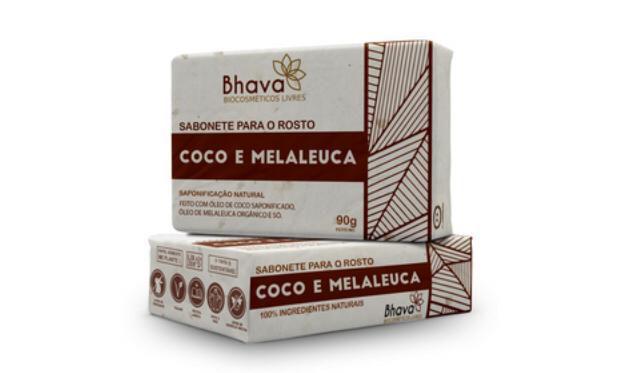 Sabonete Facial Coco e Melaleuca Lixo Zero