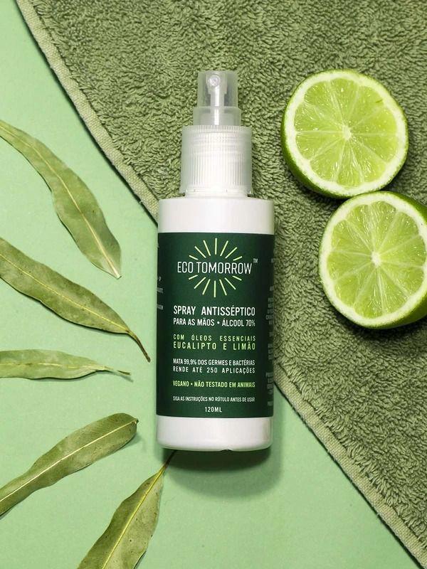 Spray Antisséptico Eucalipto & Limão 120ml