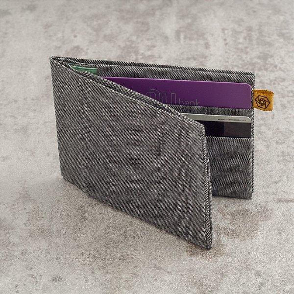 Carteira Loug – Cinza Jeans