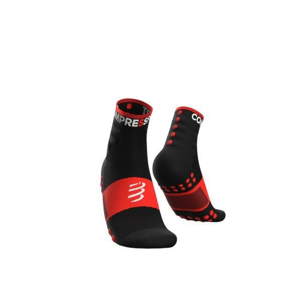 MEIA COMPRESSPORT TRAINING 2 PACK PT