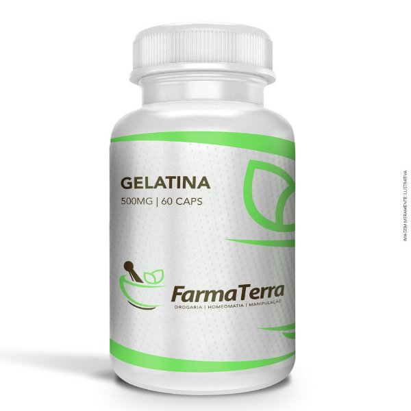 Gelatina 500mg - 60 Caps