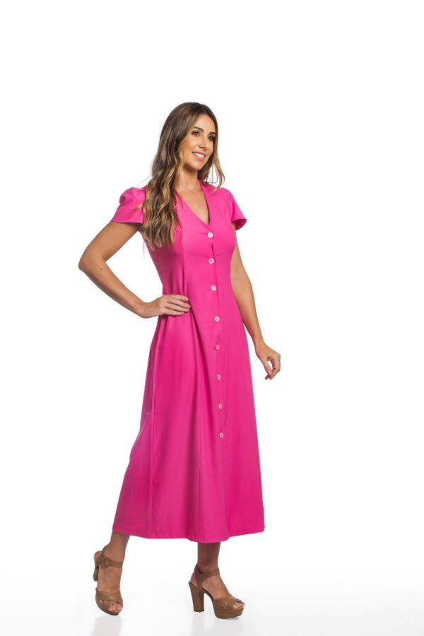 Vestido Gabriela Pink