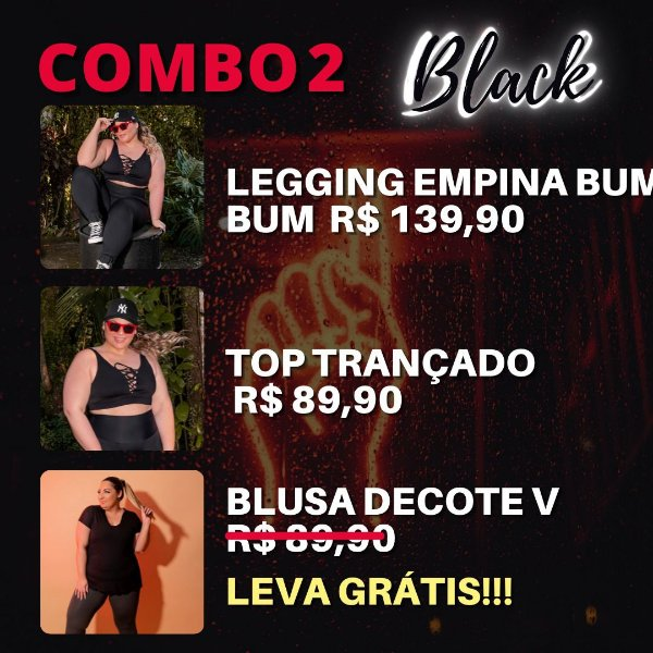 Combo Black 2