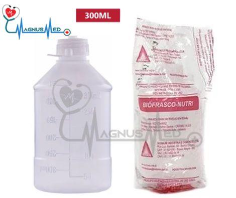 Frasco de Nutrição Enteral 300ml - Bio-Base