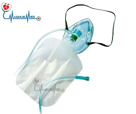 Mascara de Oxigênio Alta Concentração Adulto c/ Reservatorio - Protec