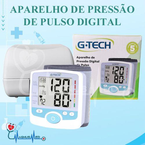 Esfigmo / Aparelho Pressão Digital de Pulso GP200 - G-tech