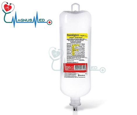 Soro fisiológico 0,9% sistema fechado 500 ml frasco – Eurofarma