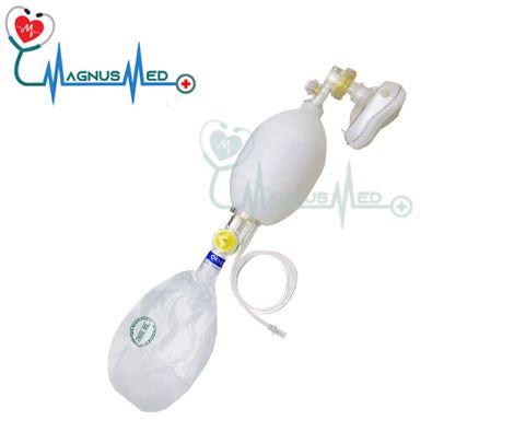 Reanimador Adulto Manual tipo Ambu de silicone com Reservatório - Farmatex