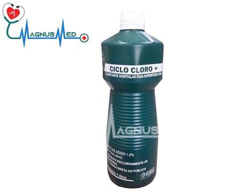 Hipoclorito de Sódio 1 % Ciclo Cloro 1 litro - Ciclo Farma