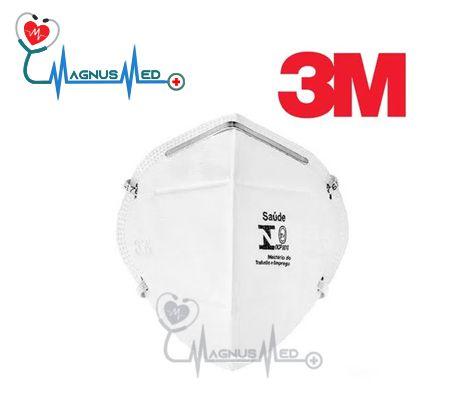 Máscara Respirador Descartável Dobrável sem Válvula PFF2 9920H Branca - 3M CA-17611