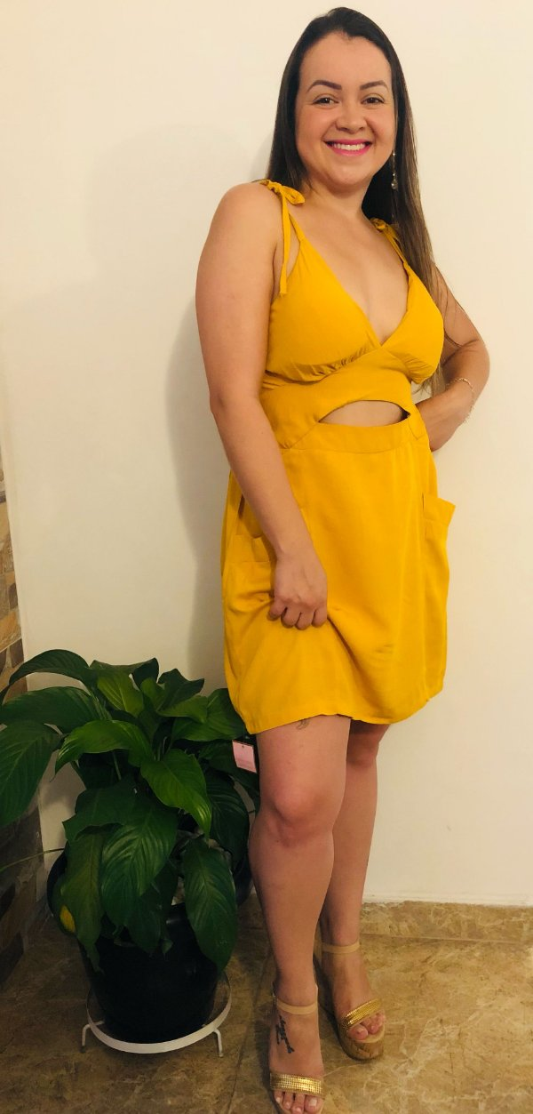 Vestido Bolsinho