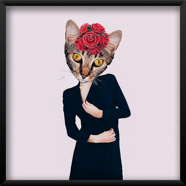 Quadro Senhora Gato