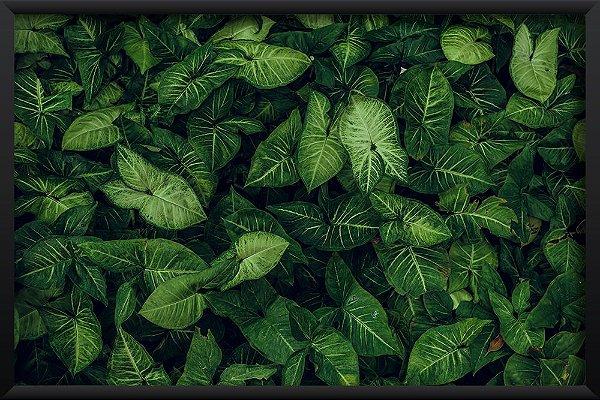 Quadro Textura Floral