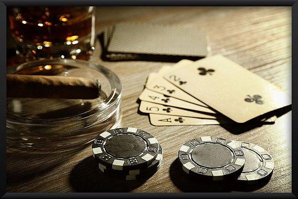 Quadro Mesa de Poker