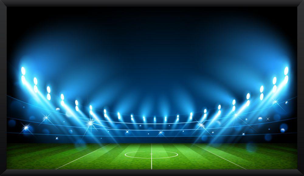 Quadro Estádio Iluminado