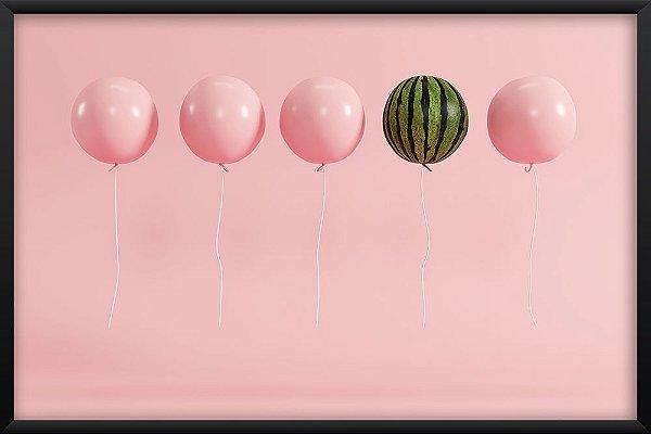 Quadro Balão Melancia
