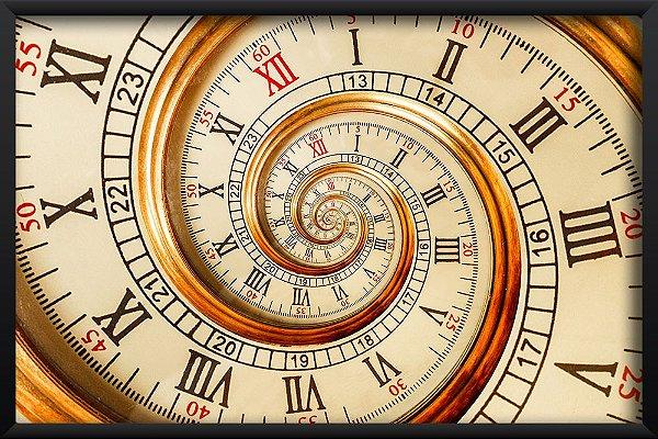 Quadro Relógio Espiral