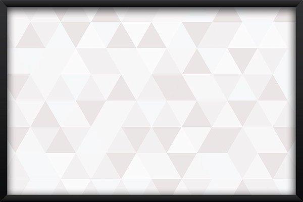 Quadro Mosaico Branco