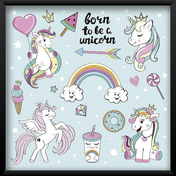 Quadro Born To Be a Unicorn