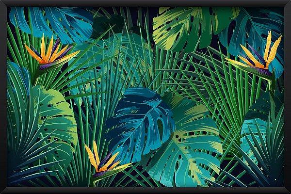Quadro Folhas de Palmeira
