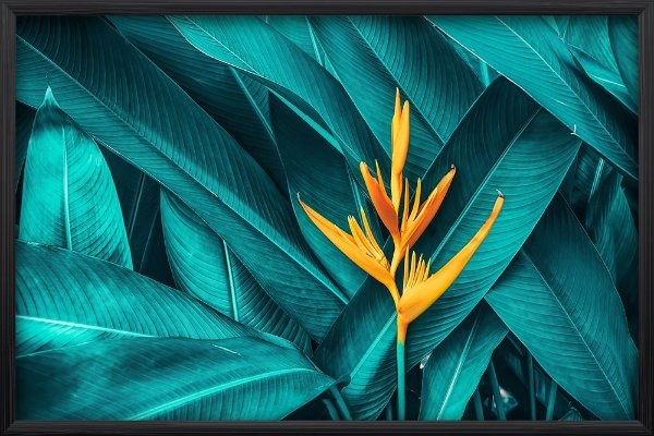 Quadro Flor Amarela