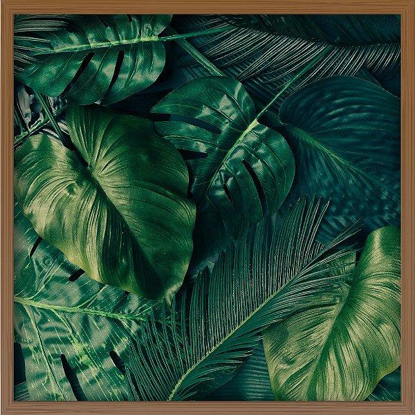Quadro Folhas Tropicais