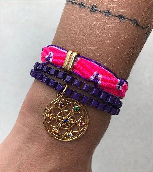 Conjunto Color Mandala Roxo