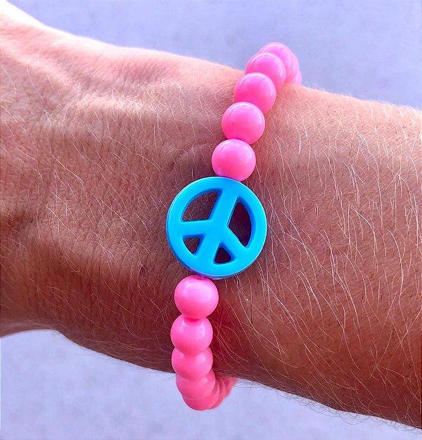 Pulseira Paz Azul
