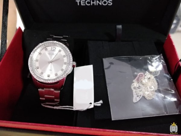 Relógio Feminino Euro - Kit - EU2035YLB-3K
