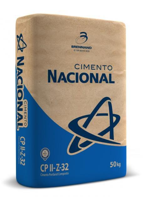 Cimento Nacional CPII-E 50 KG