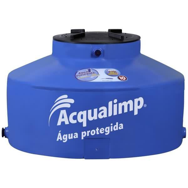 Caixa d'Água Polietileno Água Protegida 500L Acqualimp