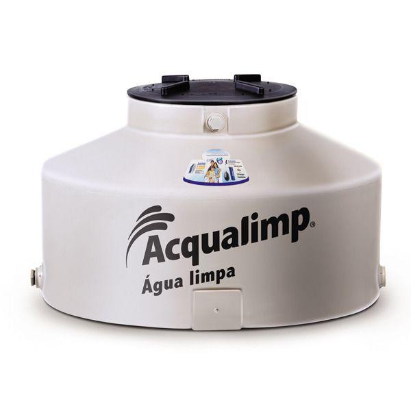 Caixa d'Água Polietileno Água Limpa 500L Acqualimp