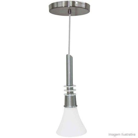 Lustre de Vidro E27 60W Design TD 253/1 Branco