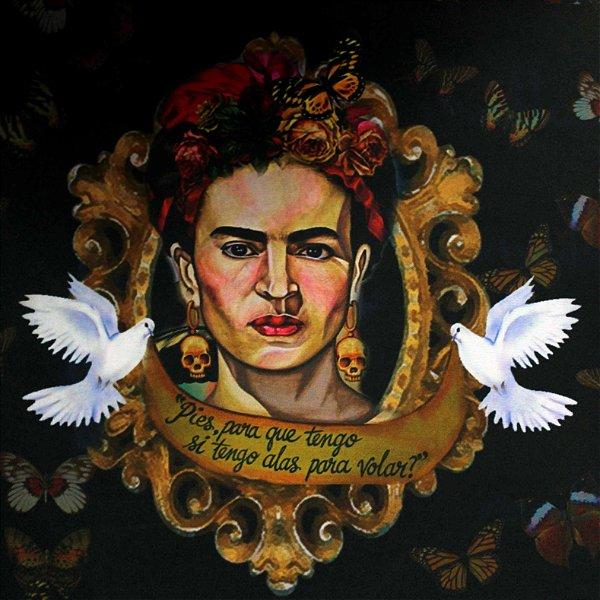 Estampa Frida